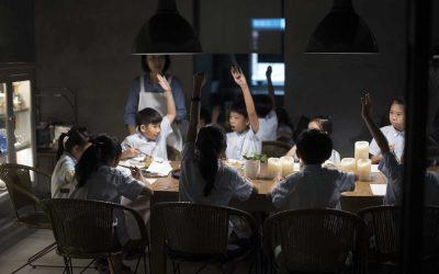 年近六十學教學《三》孩子們的一天